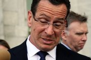 """""""In retrospect, ya know . . . probably shouldn't have done it.""""  says Governor Malloy"""