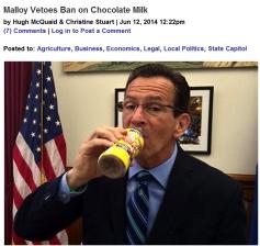 choc milk ban veto