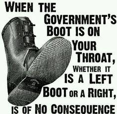 boot on throat