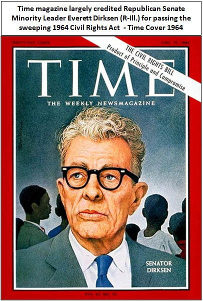 time cover 1964 dirksen