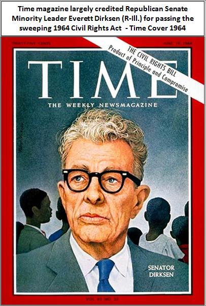 time cover 1964 dirksen